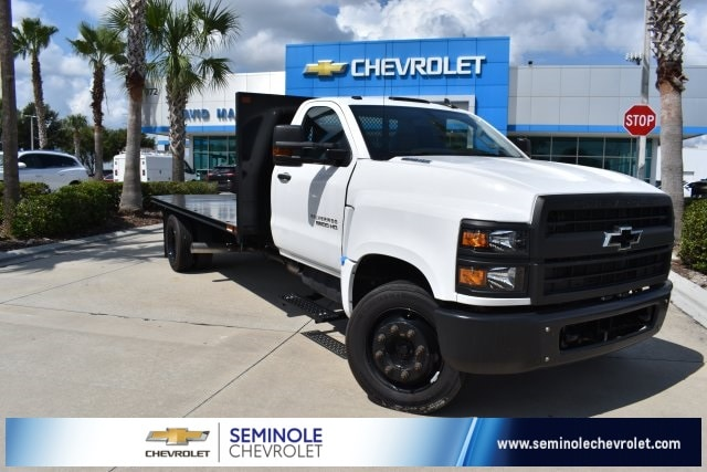 2019 Chevrolet Silverado 5500 RWD, Action Fabrication Platform Body #KH413199 - photo 1