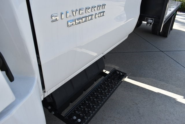 2019 Chevrolet Silverado 5500 4x2, Action Fabrication Platform Body #KH413199 - photo 8