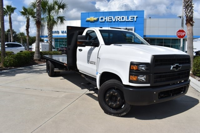 2019 Chevrolet Silverado 5500 4x2, Action Fabrication Platform Body #KH413199 - photo 1