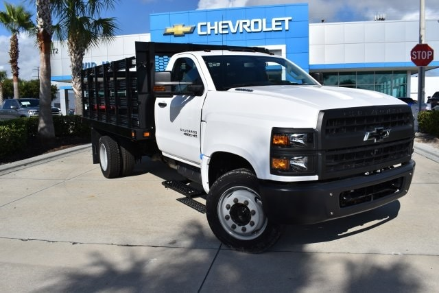 2019 Chevrolet Silverado 5500 Regular Cab DRW RWD, Knapheide Value-Master X Stake Bed #KH811321 - photo 1