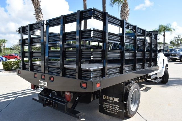 2019 Silverado 5500 Regular Cab DRW 4x2, Knapheide Value-Master X Stake Bed #KH811321 - photo 2
