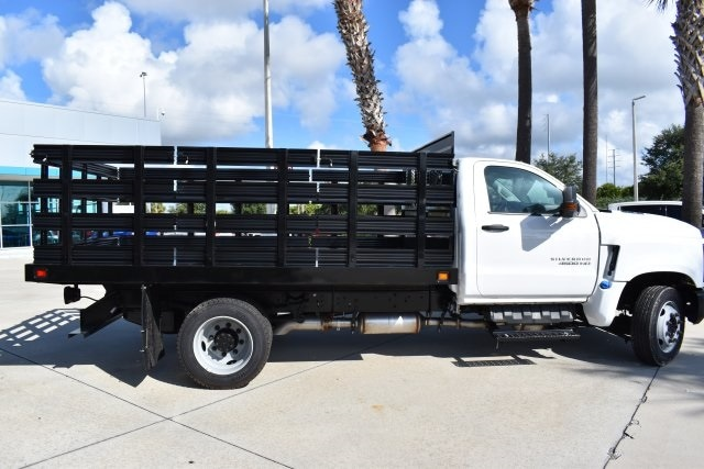 2019 Silverado 5500 Regular Cab DRW 4x2, Knapheide Value-Master X Stake Bed #KH811321 - photo 13
