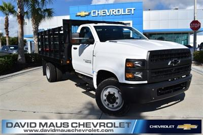 2019 Silverado 5500 Regular Cab DRW 4x2, Knapheide Value-Master X Stake Bed #KH811321 - photo 1