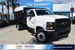 2019 Chevrolet Silverado 5500 Regular Cab DRW RWD, Knapheide Value-Master X Stake Bed #KH811321 - photo 1