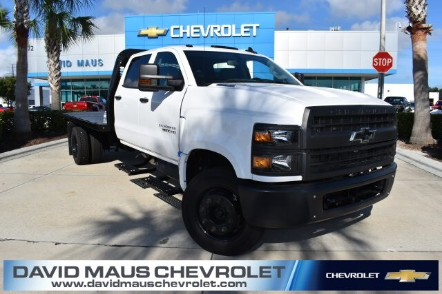 2019 Silverado Medium Duty Crew Cab DRW 4x2,  Knapheide Platform Body #KH827512 - photo 1
