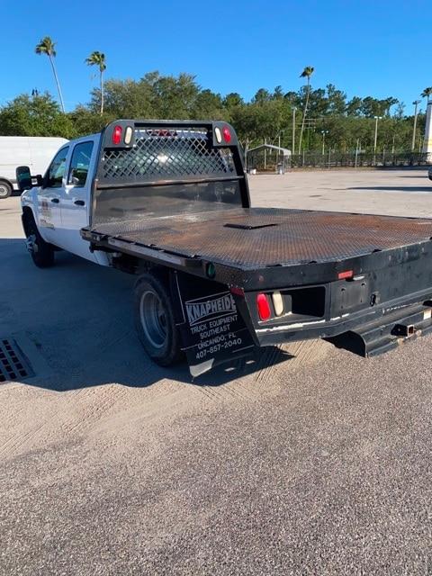 2013 Chevrolet Silverado 3500 Crew Cab 4x2, Platform Body #KH827512A - photo 1