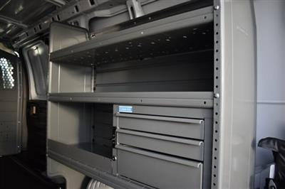 2020 Express 2500 4x2,  Adrian Steel Commercial Shelving Upfitted Cargo Van #L1124210 - photo 8