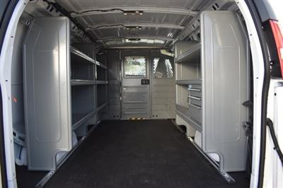 2020 Express 2500 4x2,  Adrian Steel Commercial Shelving Upfitted Cargo Van #L1124210 - photo 7