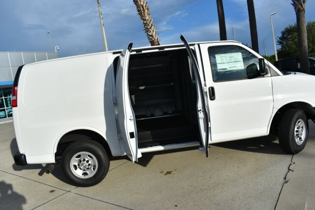 2020 Express 2500 4x2,  Adrian Steel Commercial Shelving Upfitted Cargo Van #L1124450 - photo 11