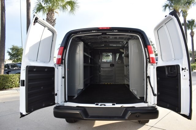 2020 Express 2500 4x2,  Adrian Steel Commercial Shelving Upfitted Cargo Van #L1125622 - photo 7