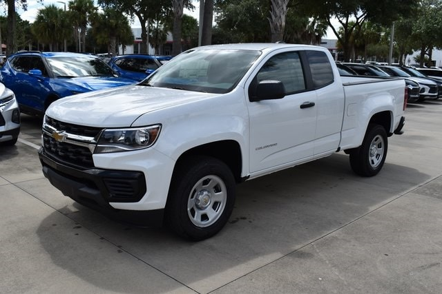 2021 Chevrolet Colorado Extended Cab 4x2, Pickup #M1113559 - photo 3