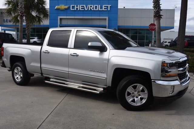 2017 Chevrolet Silverado 1500 Crew Cab 4x2, Pickup #MF153809A - photo 1