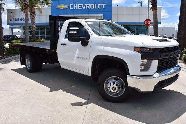 2021 Chevrolet Silverado 3500 Regular Cab 4x2, Knapheide Platform Body #MF265073 - photo 1