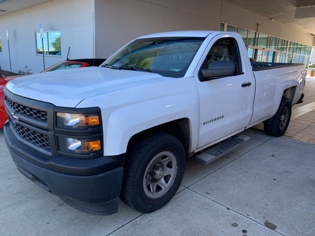 2014 Chevrolet Silverado 1500 Regular Cab 4x2, Pickup #MG163150A - photo 1