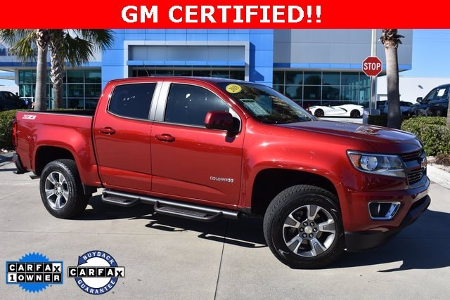 2018 Chevrolet Colorado Crew Cab 4x2, Pickup #MS523853A - photo 1