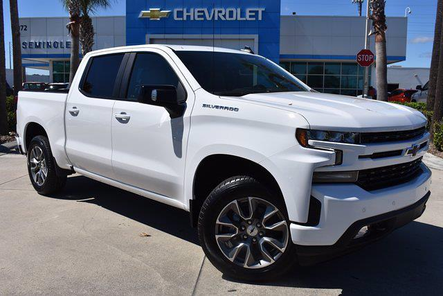 2021 Chevrolet Silverado 1500 Crew Cab 4x2, Pickup #MZ239243 - photo 1