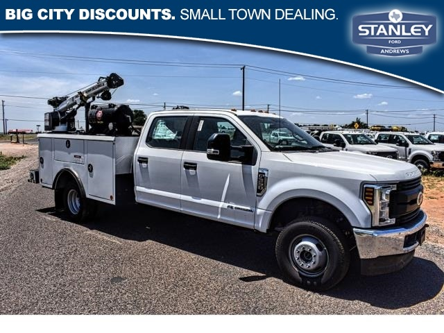2019 Ford F-350 Crew Cab DRW 4x4, Reading Mechanics Body #KEE60884 - photo 1