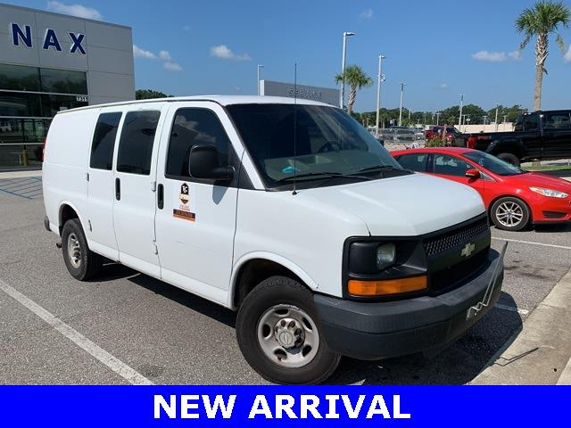 2007 Chevrolet Express 3500 4x2, Empty Cargo Van #245569C - photo 1
