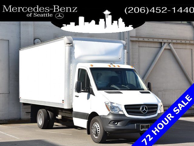 2017 Mercedes-Benz Sprinter 3500XD 4x2, Knapheide Dry Freight #H9724190T - photo 1