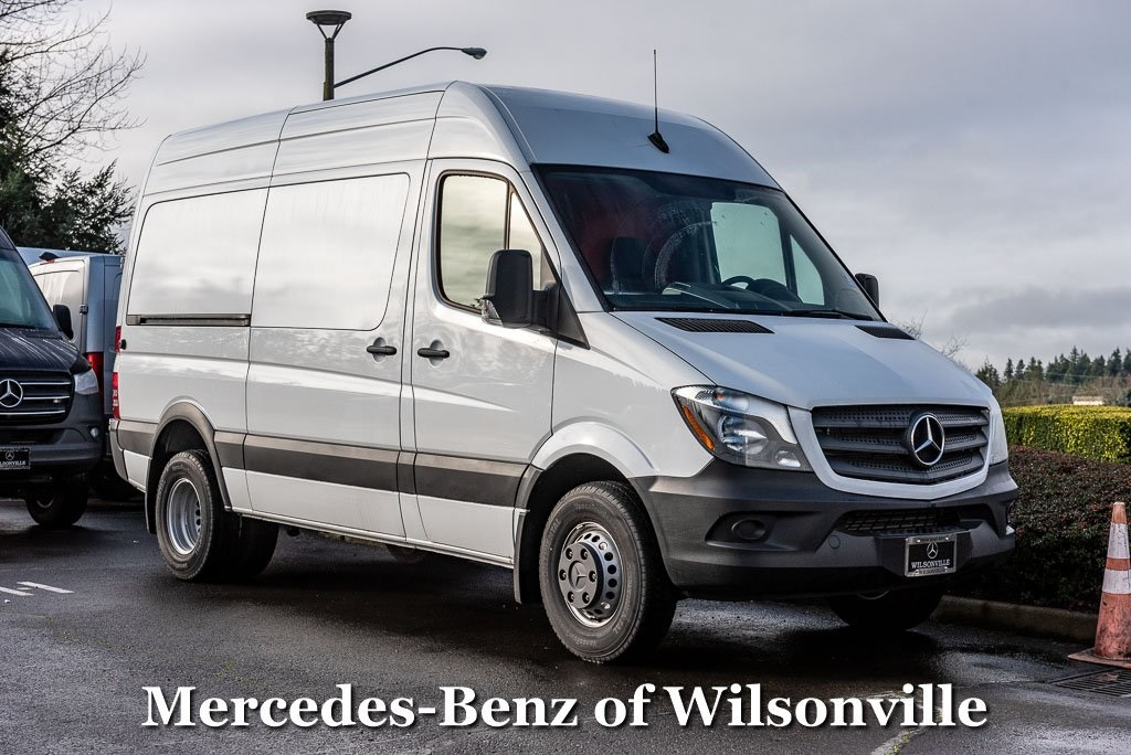 2018 Mercedes-Benz Sprinter 3500XD Standard Roof 4x2, Upfitted Cargo Van #JP614511 - photo 1