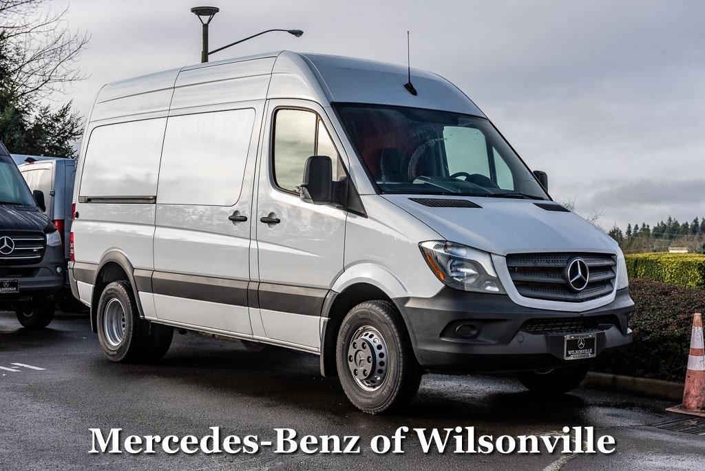 2018 Mercedes-Benz Sprinter 3500XD 4x2, Upfitted Cargo Van #JP614511 - photo 1