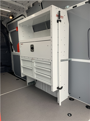 2019 Sprinter 2500 Standard Roof 4x2, Weather Guard General Service Upfitted Cargo Van #V19388 - photo 5
