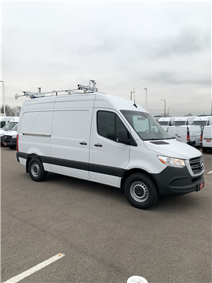 2019 Sprinter 2500 Standard Roof 4x2, Weather Guard General Service Upfitted Cargo Van #V19388 - photo 1