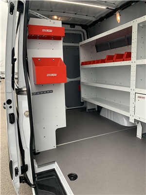 2019 Sprinter 2500 Standard Roof 4x2, Weather Guard General Service Upfitted Cargo Van #V19388 - photo 6