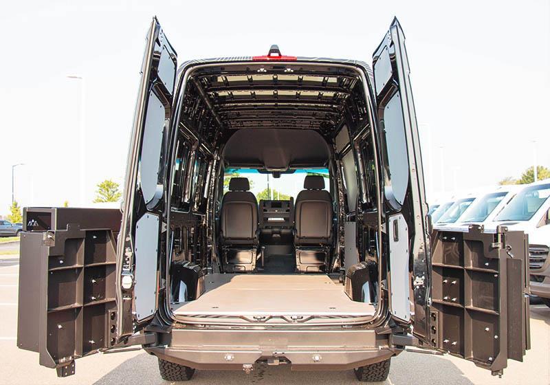 2019 Mercedes-Benz Sprinter High Roof 4x4, Empty Cargo Van #V19467 - photo 2