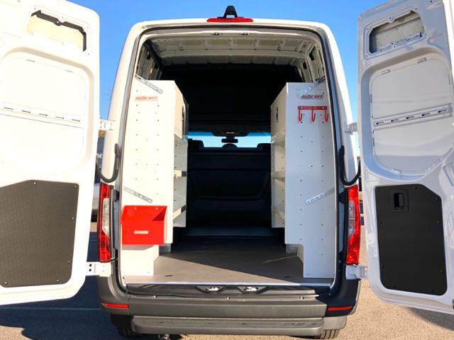 2020 Mercedes-Benz Sprinter 1500 Standard Roof 4x2, CrewVanCo & Weather Guard Upfitted Cargo Van #V20275 - photo 1