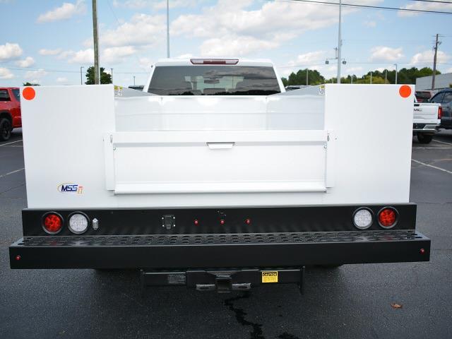 2021 Sierra 3500 Crew Cab 4x2,  Monroe Truck Equipment MSS II Service Body #FG9617 - photo 26
