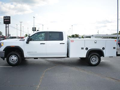 2021 Sierra 3500 Crew Cab 4x2,  Monroe Truck Equipment MSS II Service Body #FG9617 - photo 28