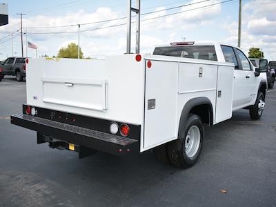 2021 Sierra 3500 Crew Cab 4x2,  Monroe Truck Equipment MSS II Service Body #FG9617 - photo 2