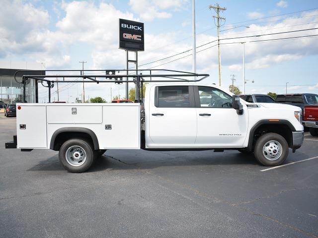 2021 Sierra 3500 Crew Cab 4x2,  Monroe Truck Equipment MSS II Service Body #FG9785 - photo 3