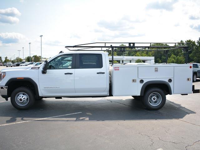 2021 Sierra 3500 Crew Cab 4x2,  Monroe Truck Equipment MSS II Service Body #FG9785 - photo 28