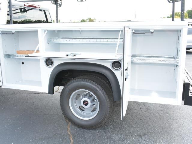 2021 Sierra 3500 Crew Cab 4x2,  Monroe Truck Equipment MSS II Service Body #FG9785 - photo 9