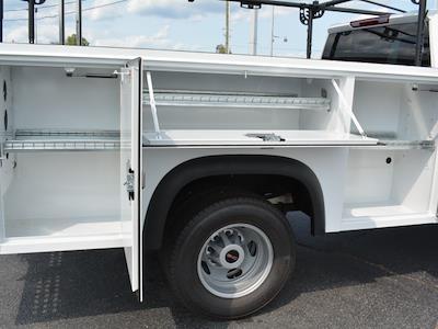 2021 Sierra 3500 Crew Cab 4x2,  Monroe Truck Equipment MSS II Service Body #FG9785 - photo 11