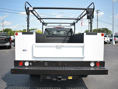 2021 Sierra 3500 Crew Cab 4x2,  Monroe Truck Equipment MSS II Service Body #FG9785 - photo 26