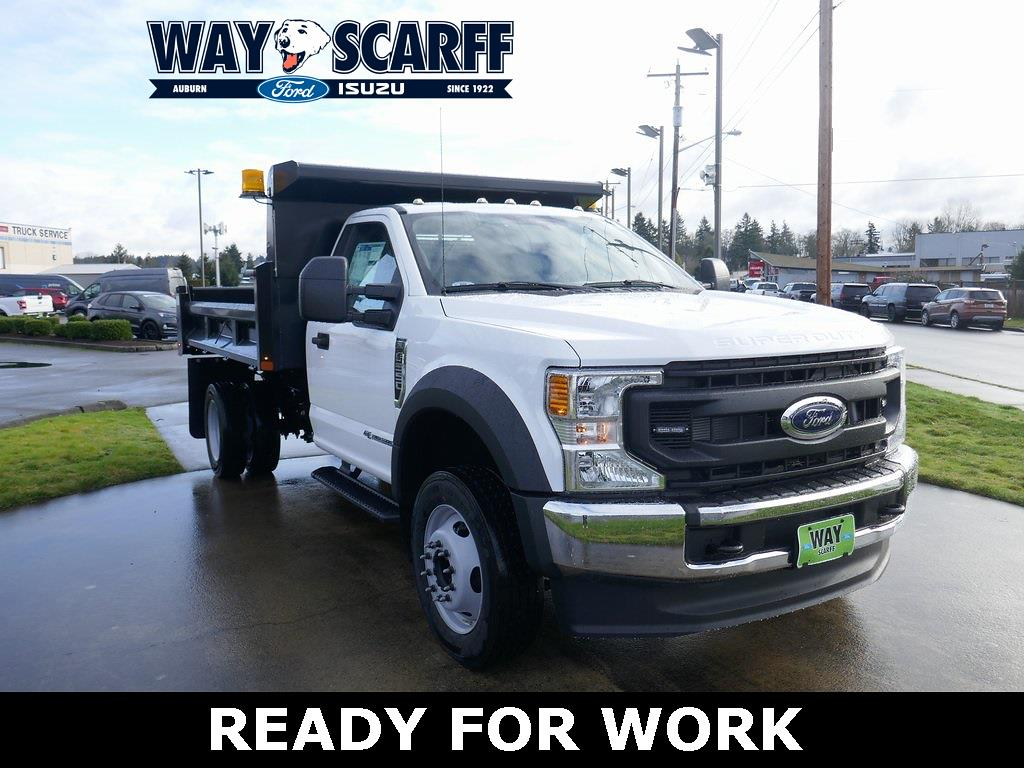 2021 Ford F-550 Regular Cab DRW 4x2, Rugby Dump Body #A25580 - photo 1
