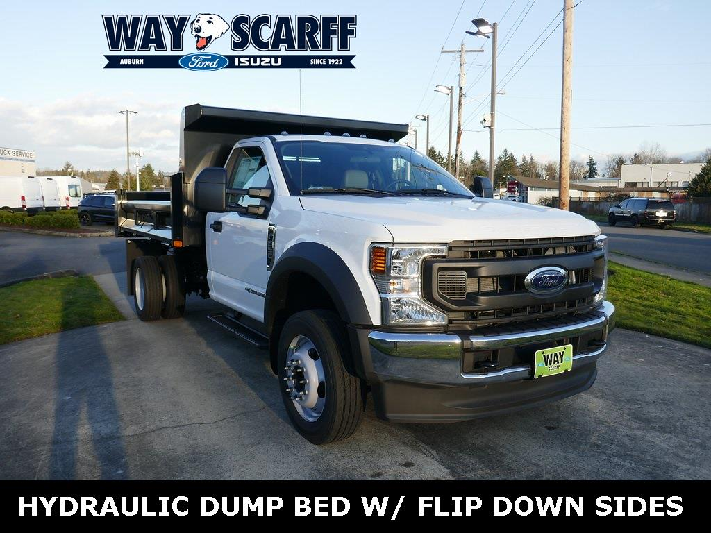 2021 Ford F-550 Regular Cab DRW 4x2, Rugby Dump Body #A25840 - photo 1