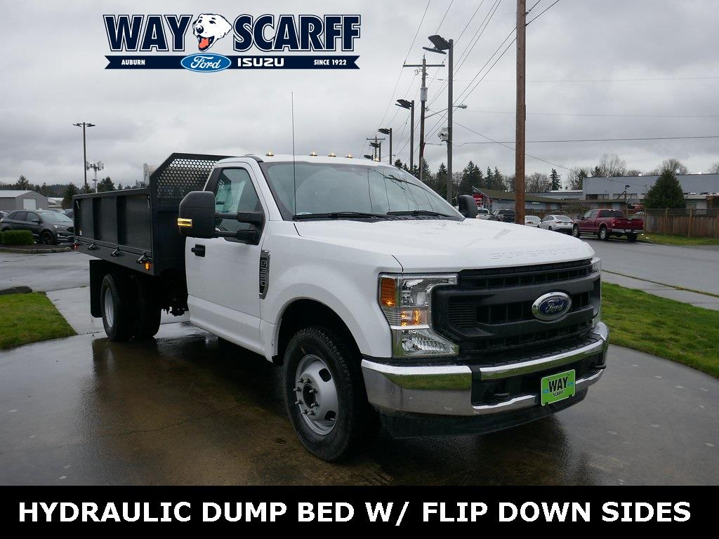 2020 Ford F-350 Regular Cab DRW 4x2, Landscape Dump #Y25570 - photo 1