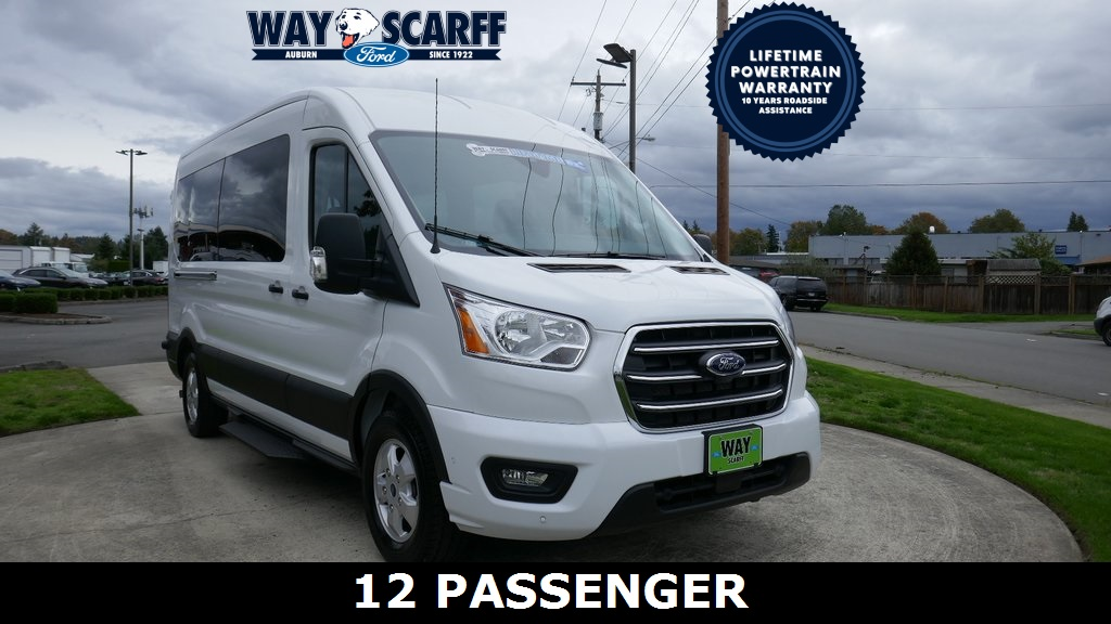 2020 Ford Transit 350 Med Roof RWD, Passenger Wagon #Y36100 - photo 1