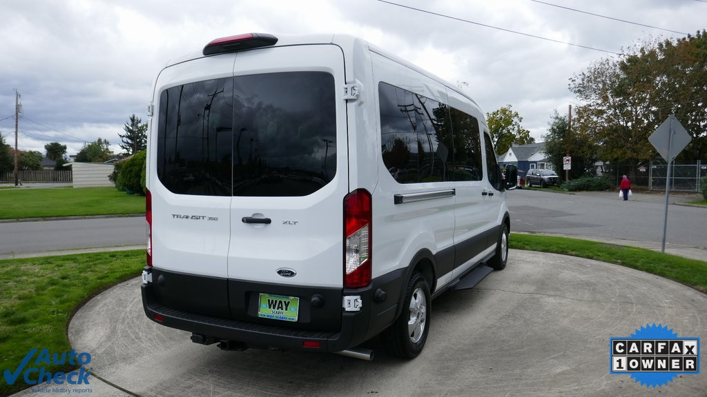 2020 Ford Transit 350 Med Roof 4x2, Passenger Wagon #Y36100 - photo 1