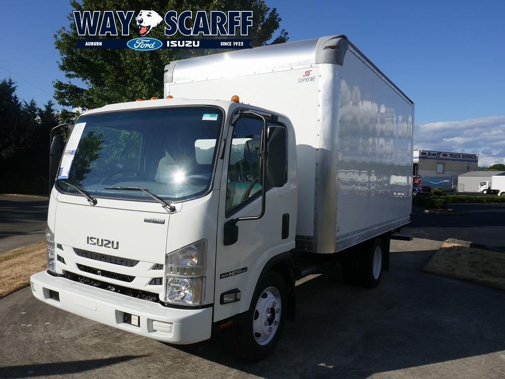 2021 Isuzu NPR-HD Regular Cab DRW 4x2, Supreme Dry Freight #A76660 - photo 1