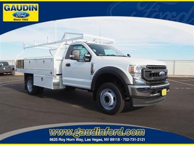 2020 Ford F-450 Regular Cab DRW 4x2, Royal Contractor Body #20T0579 - photo 1