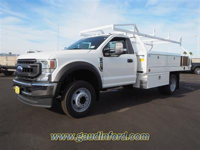 2020 Ford F-450 Regular Cab DRW 4x2, Royal Contractor Body #20T0579 - photo 4