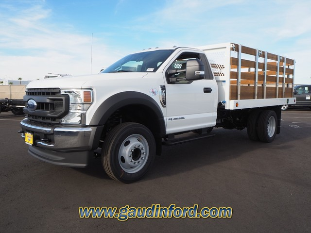 2020 Ford F-550 Regular Cab DRW 4x2, Royal Stake Bed #20T0661 - photo 4