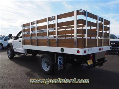 2020 Ford F-550 Regular Cab DRW 4x2, Royal Stake Bed #20T0661 - photo 2