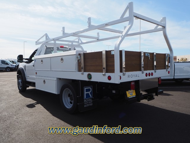 2020 Ford F-550 Regular Cab DRW 4x2, Royal Contractor Body #20T0692 - photo 1