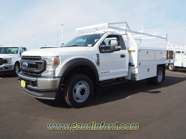 2020 Ford F-550 Regular Cab DRW 4x2, Royal Contractor Body #20T0692 - photo 4